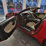 Jaguar FType rouge 2018 portière ouverte - EXO Automobiles