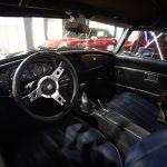 Intérieur d'une MG MBG de 1973 - EXO Automobiles