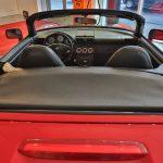 Vue arrière d'une Toyota MR2 Spyder 2004 rouge - EXO Automobiles