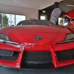 Devant d'une Toyota Supra GR Rouge 2020 - EXO Automobiles
